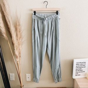 Free people movement light blue sweatpants
